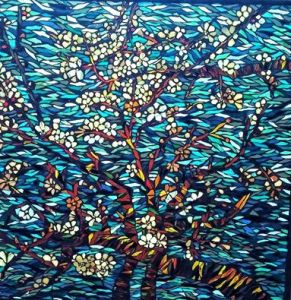 View Kory's Mosaic Blossom Series