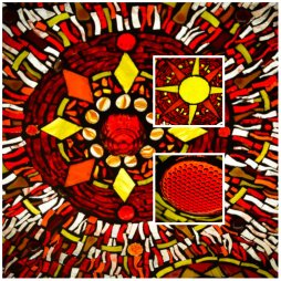 Celestial Suns by Kory Dollar of Marvelous Mosaic