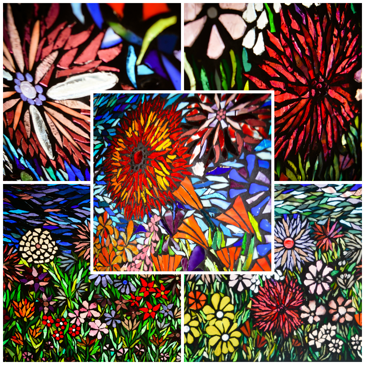 flower garden kd marvelous mosaic