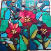 marvelous mosaic - flower - kory dollar